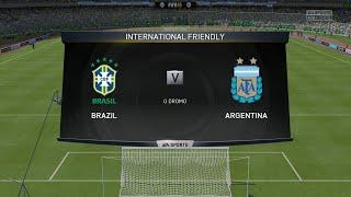 Fifa 15 - Brazil vs Argentina