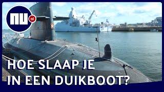 Zo ziet een onderzeeboot er van binnen uit | Achter gesloten deuren | NU.nl