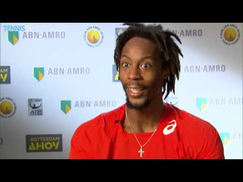 Monfils Discusses SF Win In Rotterdam 2016