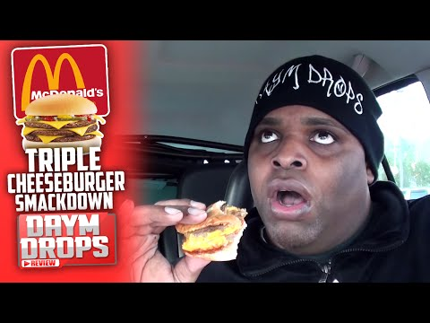 McDonald's Triple Cheeseburger SMACKDOWN