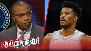 Caron Butler joins Whitlock and Wiley to talk Jimmy Butler trade rumors | NBA | SPEAK FOR YOURSELF