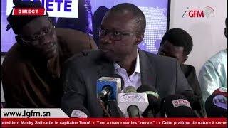 Direct : Conférence de presse de Ousmane Sonko