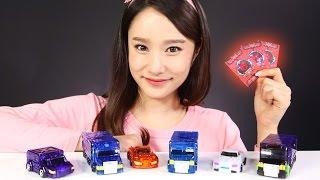 캐리의 터닝메카드 네오 요타 엑스 점보 시리즈와 크랑 안드로매지션 코카트 장난감 배틀 놀이 CarrieAndToys