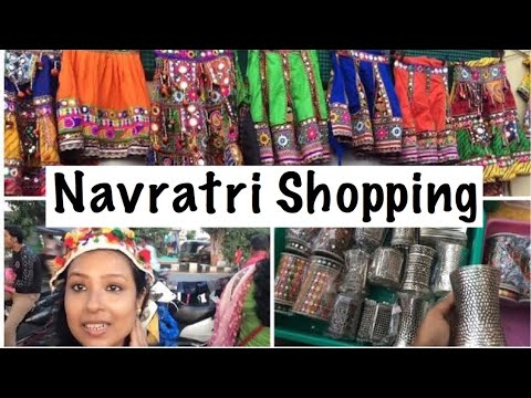 Navratri Shopping Vlog |  Chaniya Choli  | Accessories | Address :Aanad Mahal Road Surat Gujarat