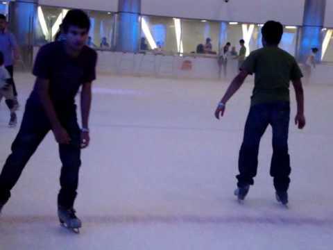 Ice skating @ shanghai