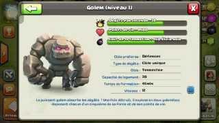 Attaque full barbare (niv3) sur clash of clans! Episode 1