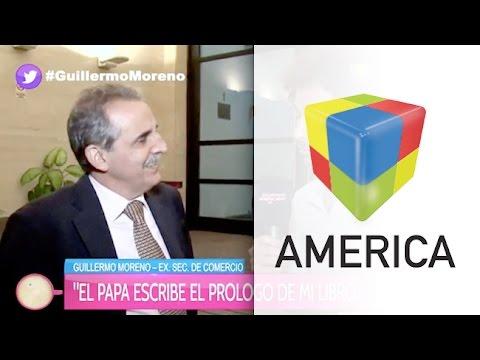 Guillermo Moreno confirmó que el Papa escribe el prólogo de su libro