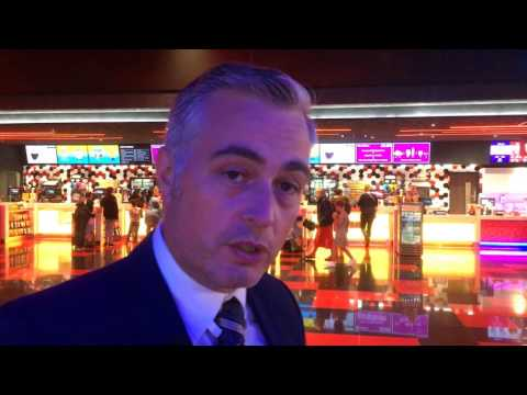Cineworld manager Chris Clarkson reveals the cinema's new look interior