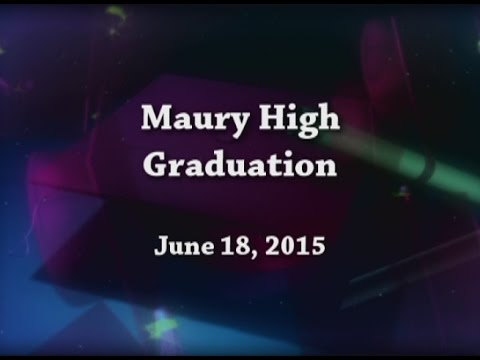 Maury High School Graduation | Class of 2015