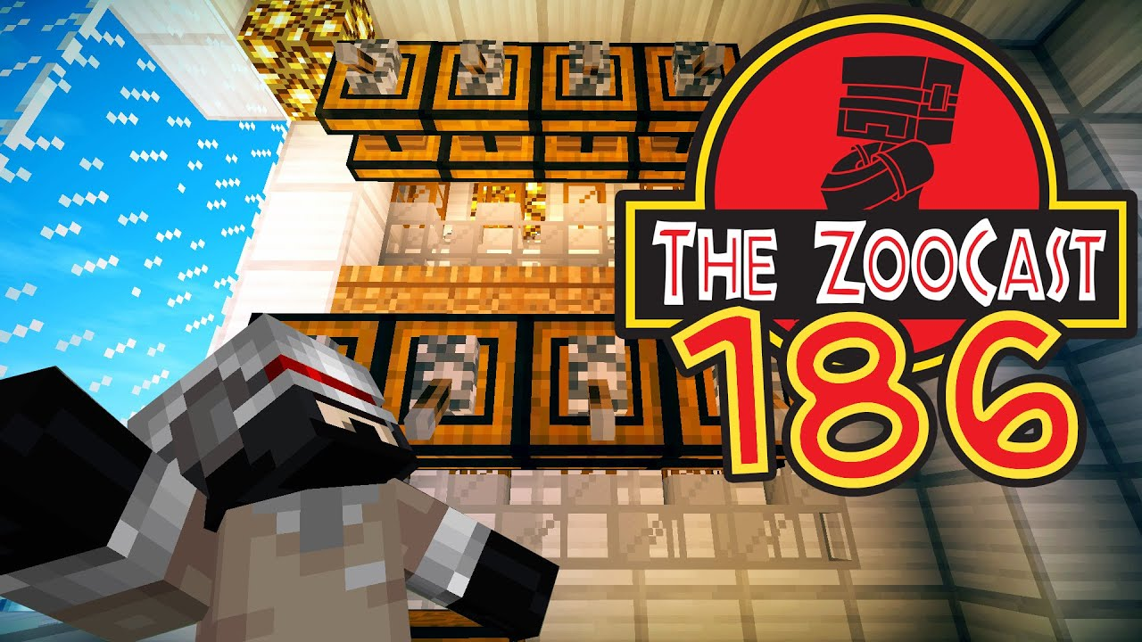 Minecraft Jurassic World (Jurassic Park) ZooCast - #186