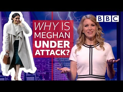 Why does Meghan Markle get so much hate? | The Mash Report - BBC