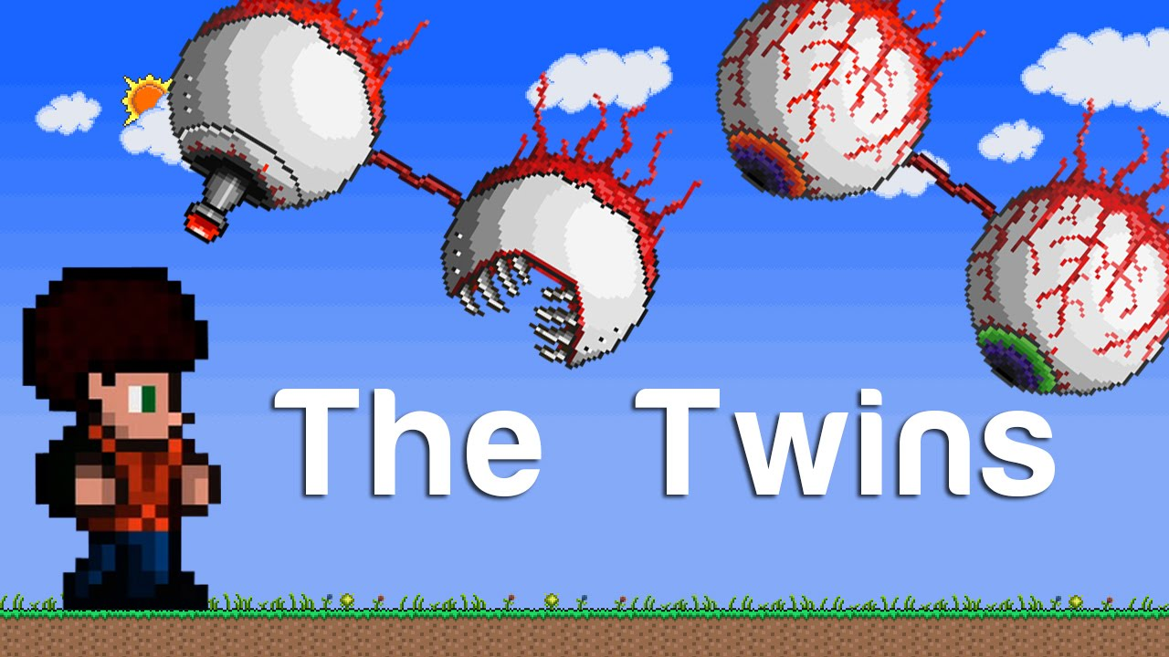 terraria xbox the twins 111 youtube
