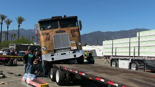 Loading The Ole Freightliner - The Hard Way