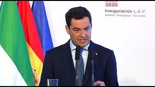 """Moreno destaca el potencial del AVE como """"locomotora económica"""""""