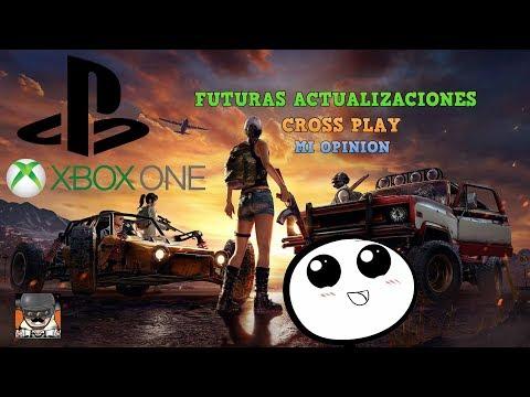 Cross Play Entre Consolas Xbox One Y Play Station 4 ! Futuras Actualizaciones Opinion PUBG