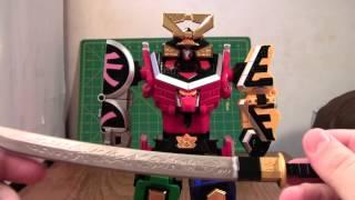 Super Sentai Shinken-oh Review (power Rangers 20th Anniversary Toys R Us Exclusive)