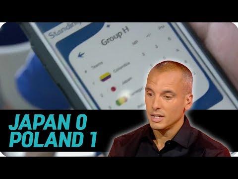 [한글자막] 일본 폴란드 경기에 분노한 BBC 해설진 반응