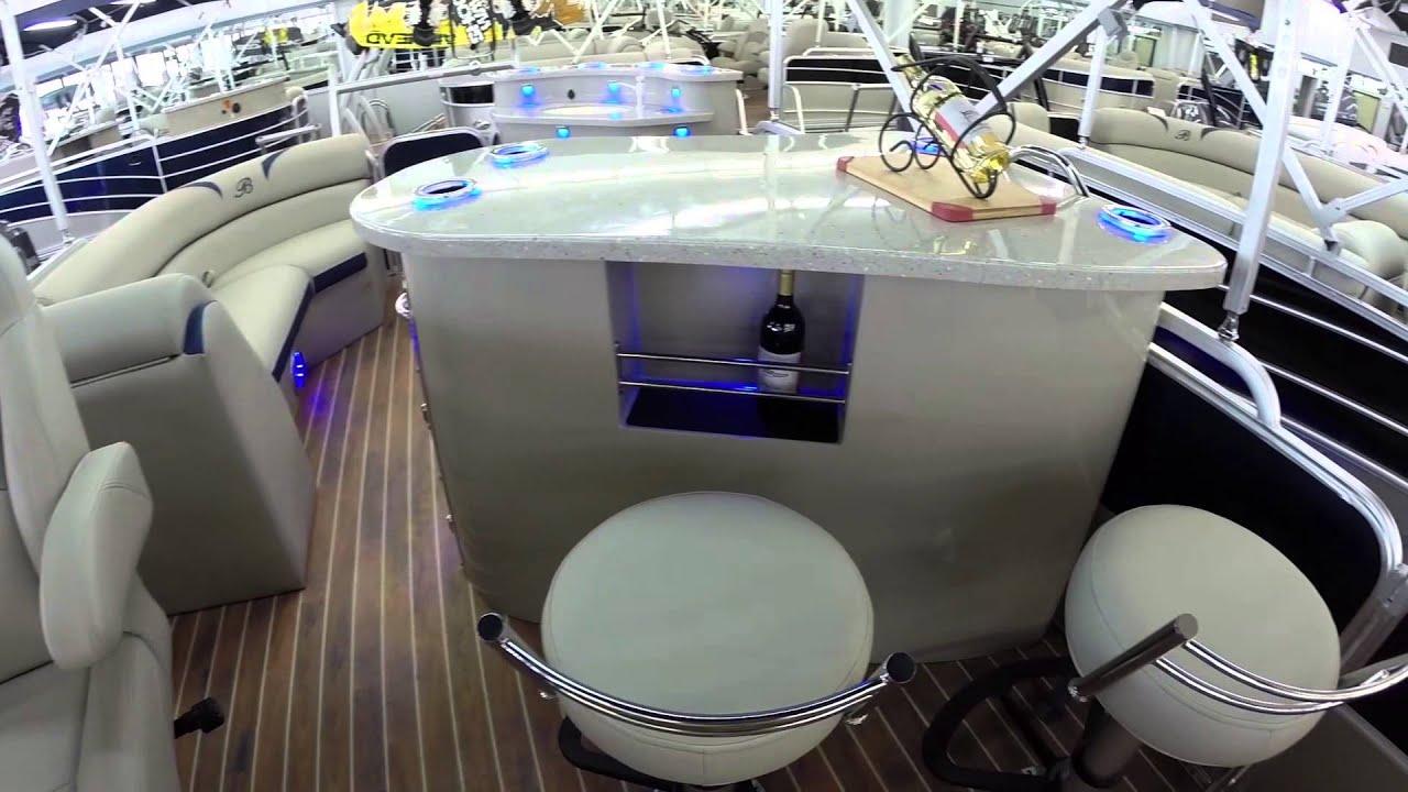 2014 Berkshire 230STS Tri Toon Bar Boat