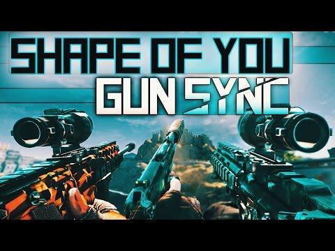 Rainbow Six: Siege - Gun Sync   Ed Sheeran - Shape of You (MAKJ Remix)