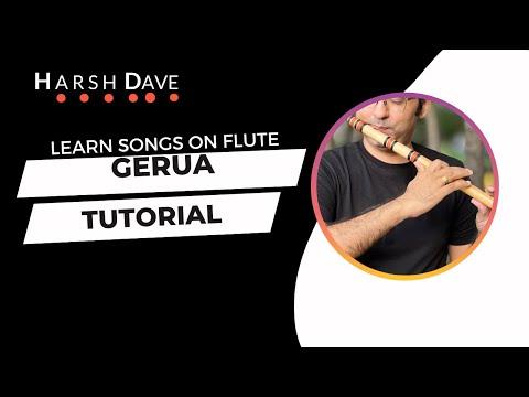 Gerua - Flute Instrumental And Tutorial | Dilwale Movie | Pritam Songs