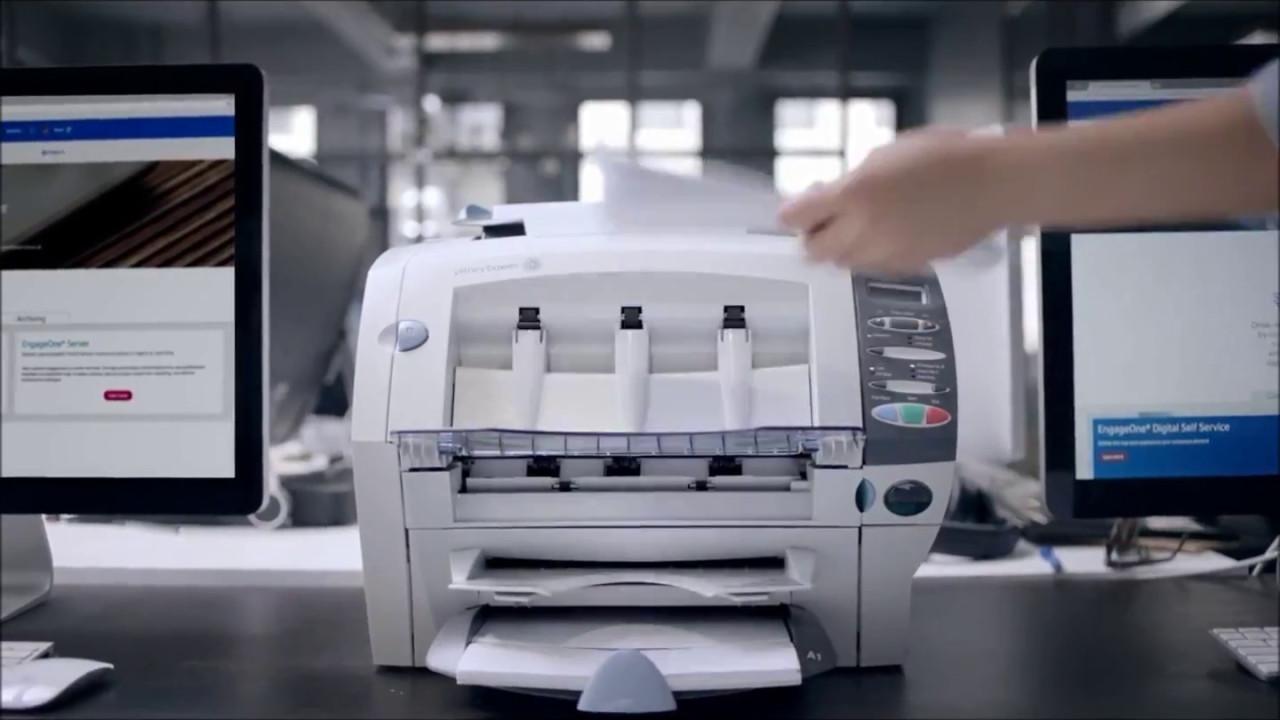 Mail inserting equipment