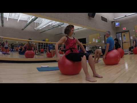 PILATES WITH STABILITY BALL 10