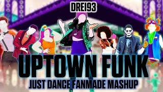 Uptown Funk - Mark Ronson ft. Bruno Mars [Just Dance Fanmade Mashup]