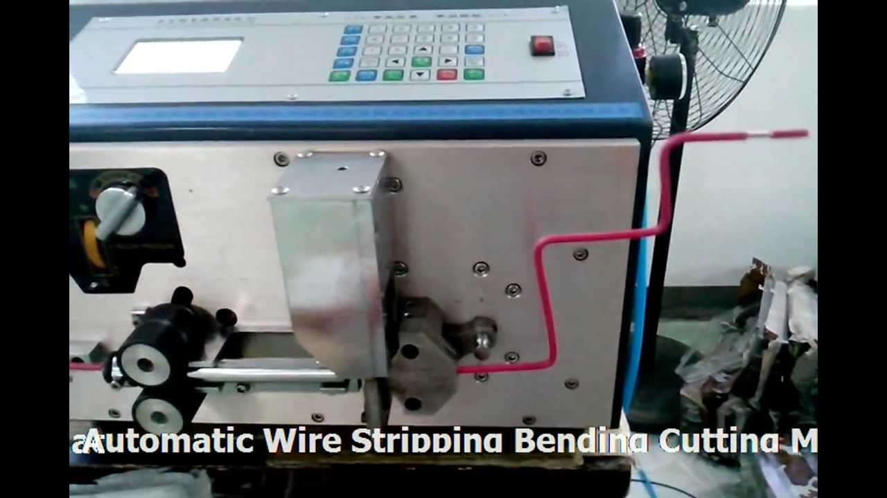 Automatic 16mm2 Wire Stripping Bending Cutting Machine/sales ...