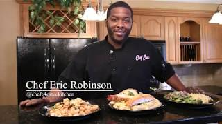 Chef Eric makes delicious loaded rice