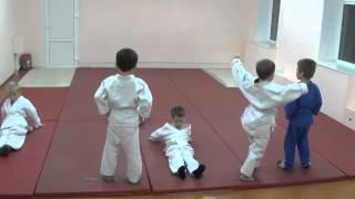 1.11.15 Открытый урок по дзюдо: разминка. Дети 5 - 6 лет. Centre Judo Kids. Feodosiya