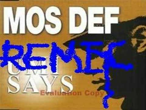 Mos Def - Umi Says (Zero 7 Mix)