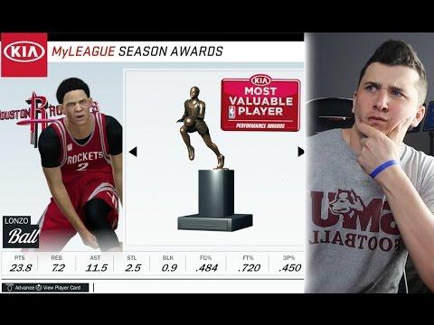 How Good Will Lonzo Ball Be In 10 Years? NBA 2K17 Challenge