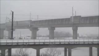 津軽海峡線が北海道新幹線に入線する瞬間!