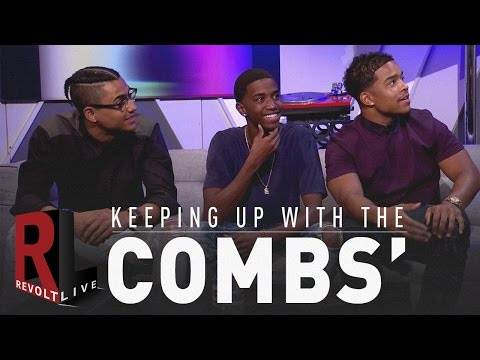 REVOLT Live  Keeping up with the Combs'