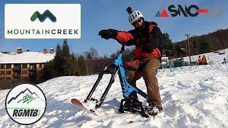 Sno-Go Snow Bike Day at Mountain Creek | SnoGo Fun!