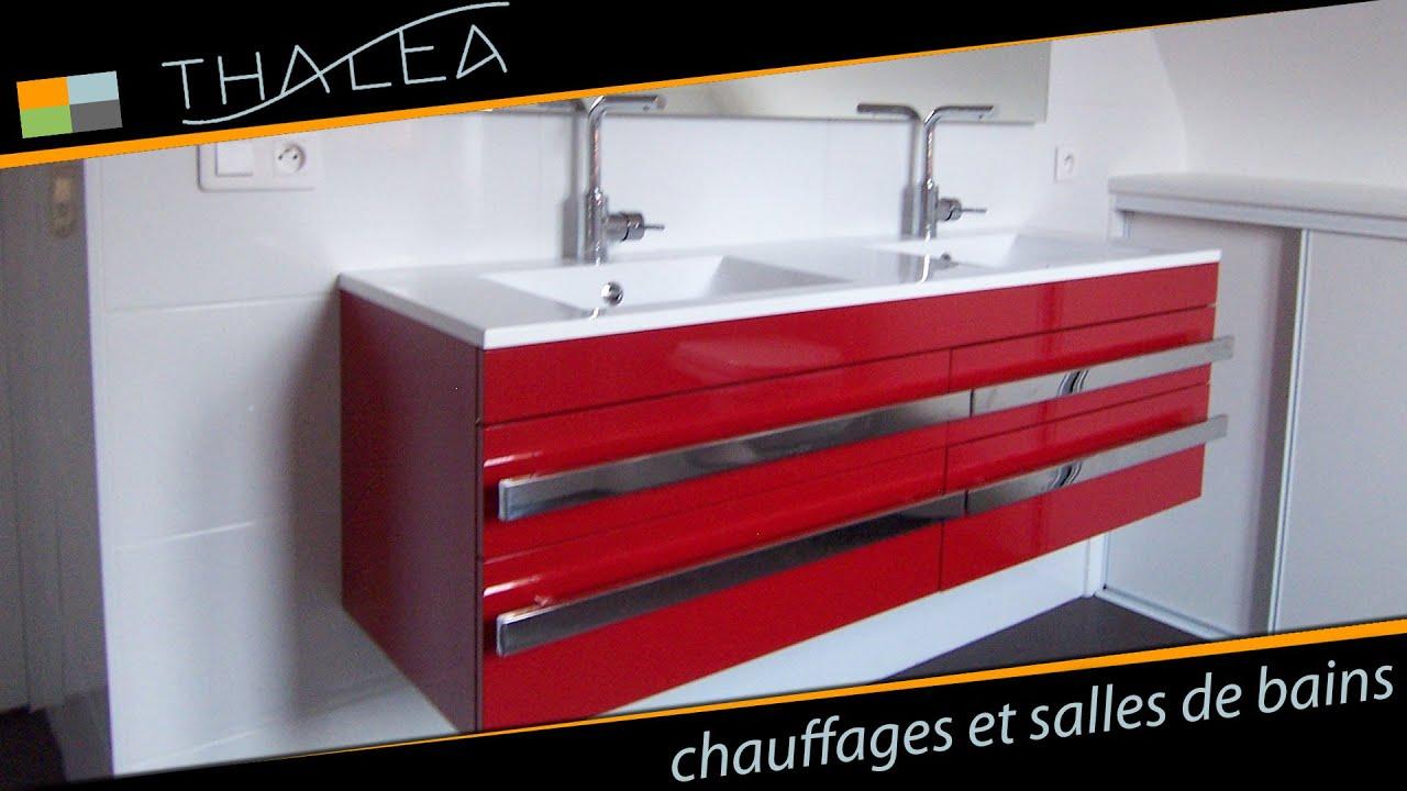 Thalea salle de bain meuble design et cr ation de Creation meuble salle de bain