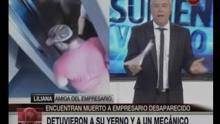 Canal 26 - Encuentran muerto al empresario desaparecido.