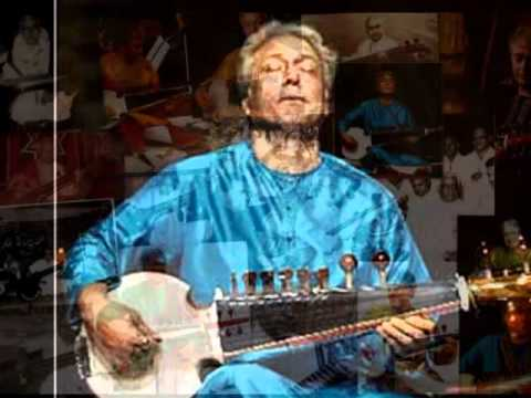 A crown jewel of jugalbandi. Emani shankara shastry and Amjad Ali Khan - 1/4.