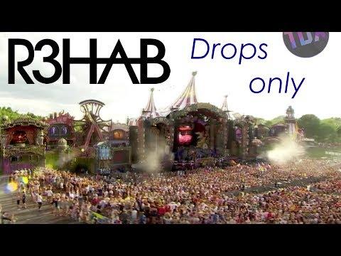 R3HAB - Drops Only - Tomorrowland 2017