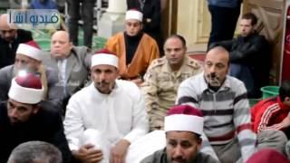 بالفيديو .. محافظ البحيرة يشهد الاحتفال بالمولد النبوى الشريف