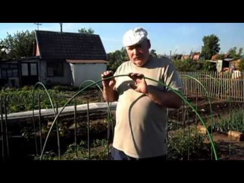 Боремся за урожай: как быстро и качественно собрать парники из дуг с укрывным материалом