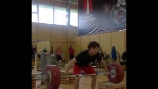 Зульфат Гараев рывок 140 кг