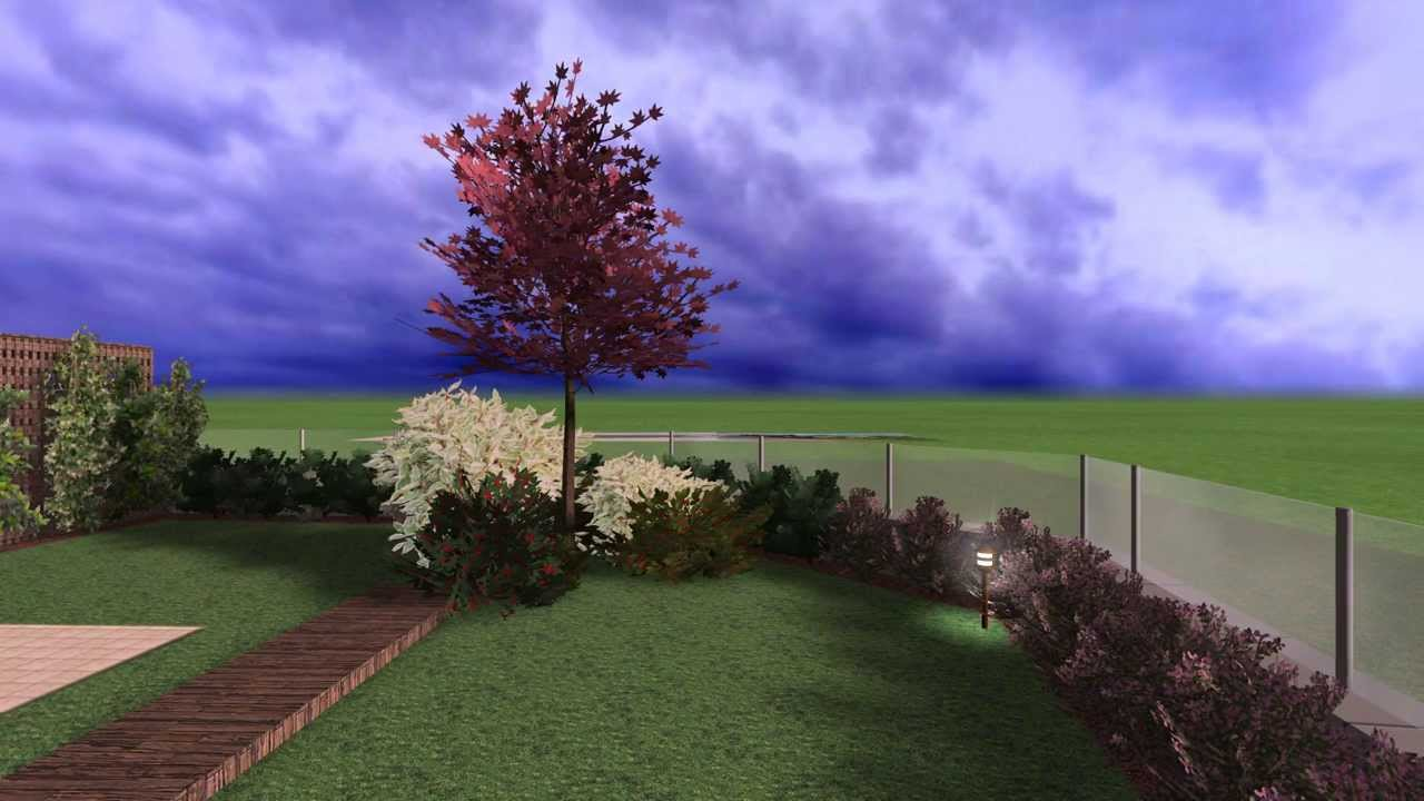 Progetto per un giardino privato con piscina ottobre for Progetti di giardini