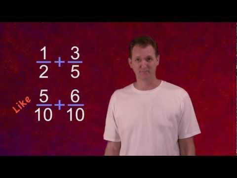 Math Antics - Common Denominator ECD