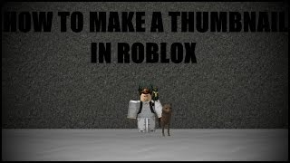 How to make a thumbnail with paint.net | ROBLOX