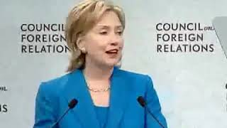 Hillary Clinton Admits She Takes Orders from Council on Foreign Relations  (July 15, 2009)