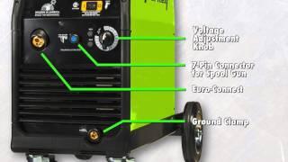 Forney® 270 MIG Welder Feature Info