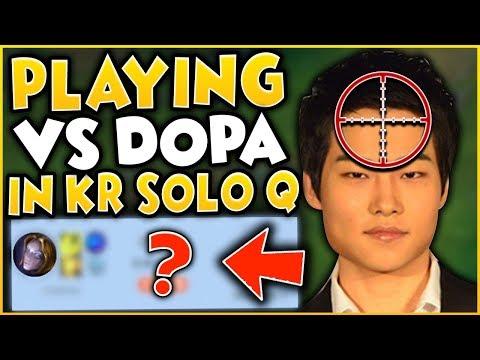 RANK 1 NA VS DOPA (APDO) IN KOREAN CHALLENGER | League of Legends