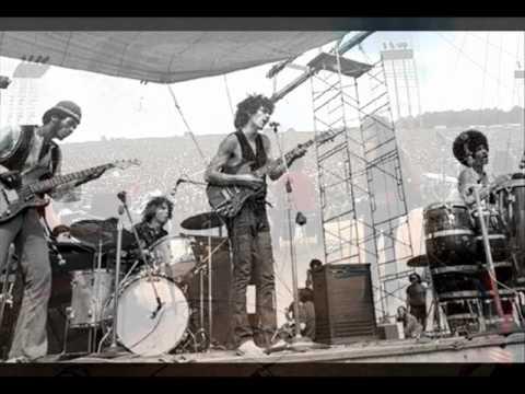 "Santana (Soul Sacrifice after ""Rain Chant"" Intro) - At Woodstock 69. Mono Mix off 1970 Cotillion LP."