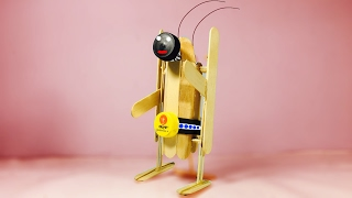 How to make awesome walking robot with dc motor